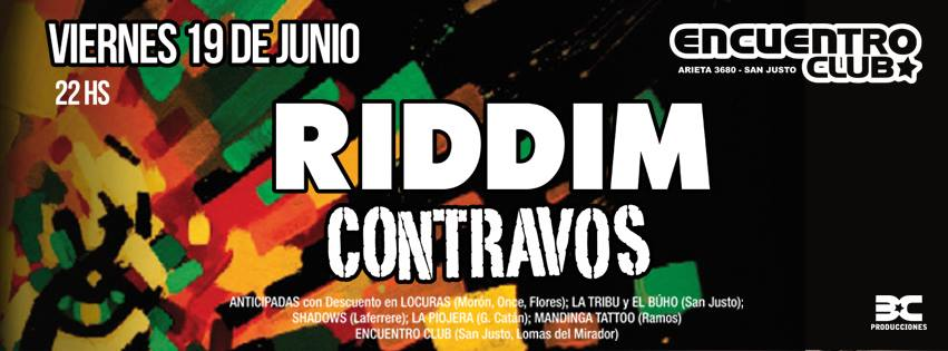 Noche reggae en San Justo