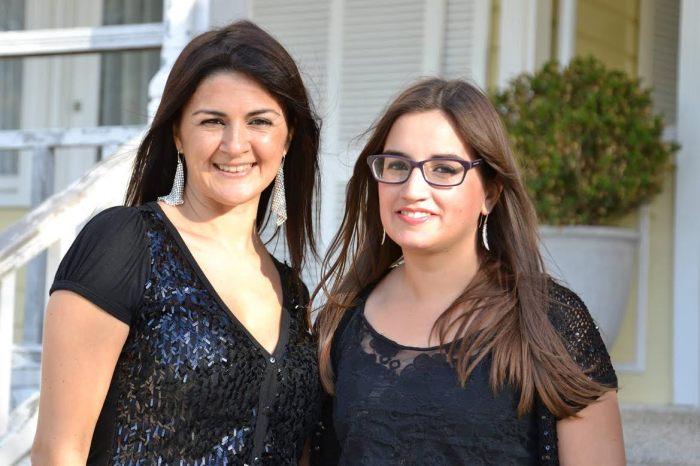 Rocío Baraglia (Izq.) y Amalia Escobar (Der.)