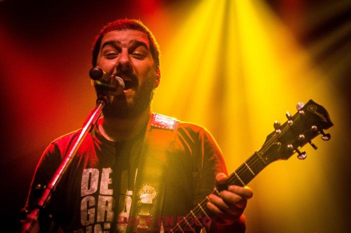 Panter, guitarra y voz de DLGP